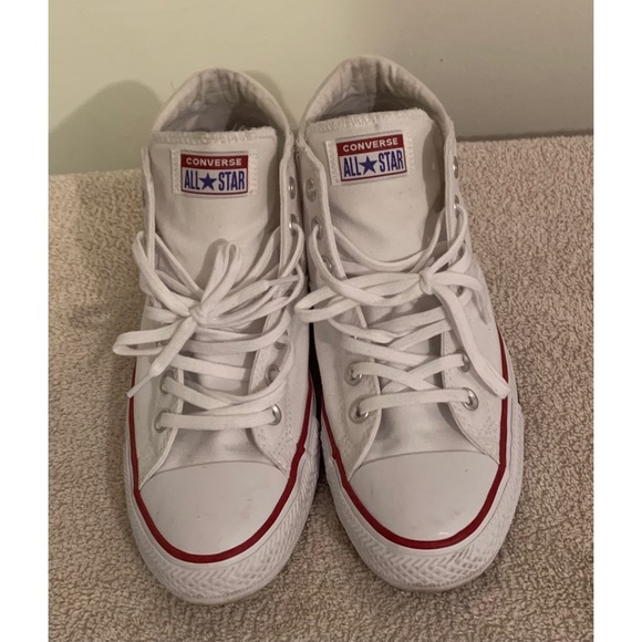 CONVERSE Chuck Taylor All Star White Mid Top